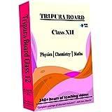 Tripura Class 12 - Combo Pack - Physics, Chemistry And Maths Full Syllabus Teaching Video (DVD)