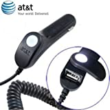 AT&T Micro-USB Car Charger With USB Port - AT&T Original Accessory