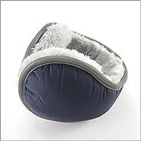Ear Warmers Muffs Foldable/adjustable Earmuffs By Breeze Winter Men Women Adjust Size Outdoors Sports (Navy Blue)