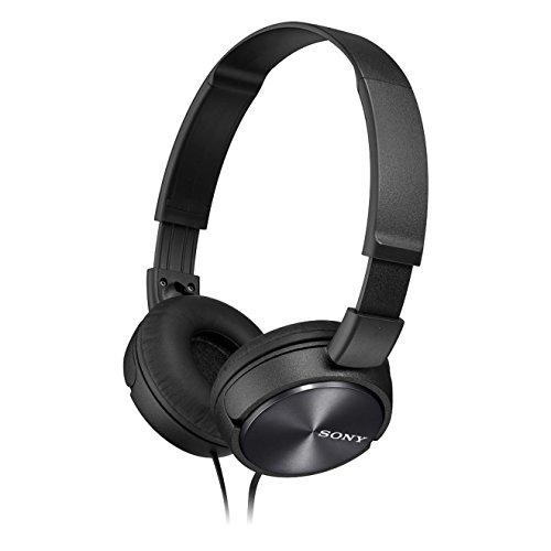 Sony MDR-ZX310B - Auriculares de diadema cerrados (sin micrófono), negro width=