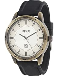 AXE Style Casual Analogue White Dial Men's Watch - X0141R_White