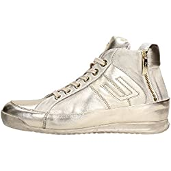 4US CESARE PACIOTTI NNGD6LM Sneakers Donna Pelle Oro