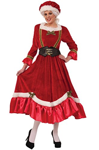 Jolly Mrs Santa Claus Christmas Adult Costume