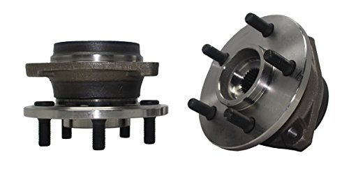 Brand New (Both) Front Wheel Hub and Bearing Assembly Jeep Cherokee Comanche Grand Cherokee TJ Wrangler 5 Lug (Pair) 513084 x2