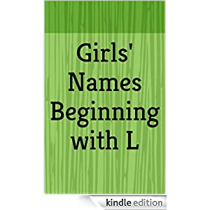 girl names with letter l names beginning with l letter series ebook 21952