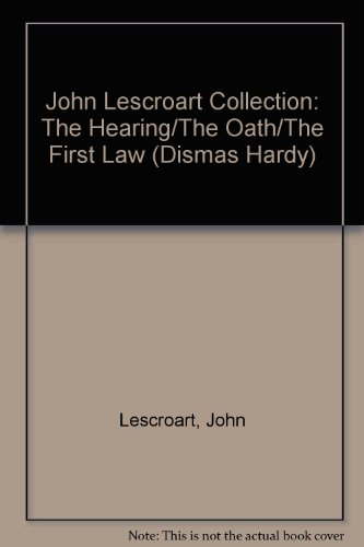 USED GD John Lescroart Collection The Hearing Oath And First Law D