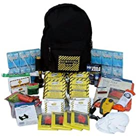 SKO Survival Kit Deluxe Emergency Disaster Preparedness 72 Hour Backpack Kit Earthquake, Hurricane, Fire, Flood, Tornado, Evacuation or Storm. Home, Work or Auto: 4 Person