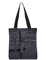 Snoogg Paris Gift Poly Canvas Tote Bag