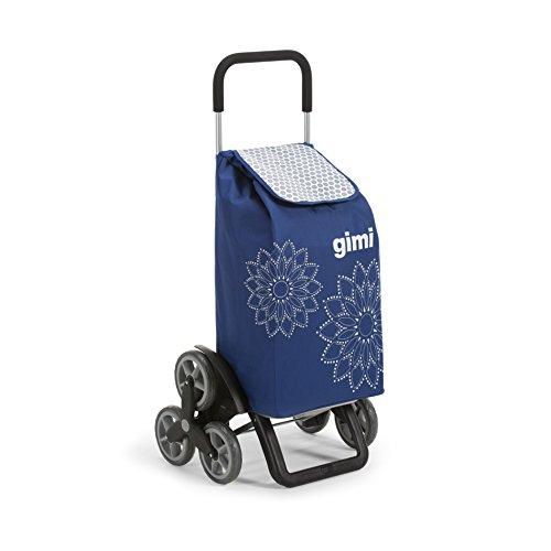 Gimi Tris Floral Bleu Poussette de marché