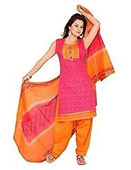 Ritu Creation Women's Cotton Stitched Salwar Suit - B015ZVBUDO