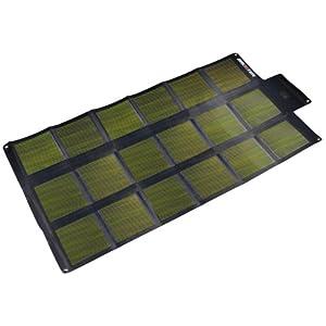 Brunton SOLARIS 52 CIGS Foldable Solar Panel (Black/Silver, 12 Volt)