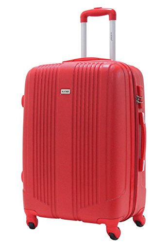 Valise Taille Moyenne 65cm - ALISTAIR Airo - ABS ultra Léger - 4 roues- Rouge