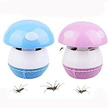 VALAMJI Mosquito Insects Trapper Killer Lamp (MushroomShape Blue) - B06XDQ8Z1J