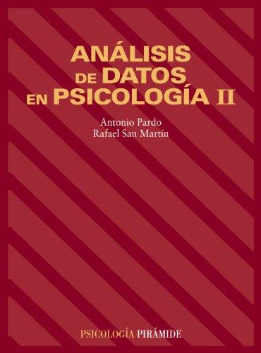 Análisis de datos en Psicología II