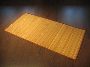 Bambus Teppich 160 x 230 cm Bambusteppich - 17mm
