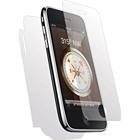 Clear-Coat Full Body Scratch Protector for the iPhone 3G, 3G S