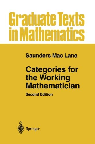 Categories for the Working Mathematician Reprint