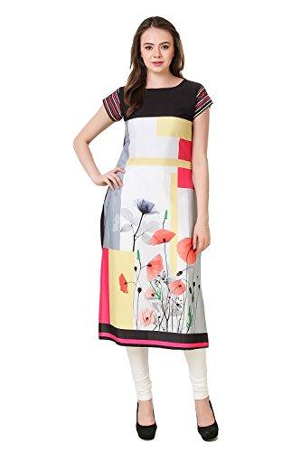 Levazo Kurtis For Women Crepe Tunic Style Top Kurti Buy Online Kurti