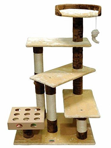 Go Pet Club IQ Busy Box Cat Tree, 26