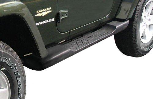2007-2014 Jeep Wrangler 2 Door Factory Molded Side Steps/Running Boards-OEM