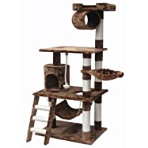 Go Pet Club Brown 62 Cat Condo F68