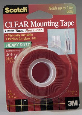 Scotch Clear Mounting Tape. 1X60 CLR MOUNTING TAPE