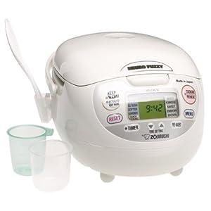 Zojirushi NS-ZCC10 5-1/2-Cup Neuro Fuzzy Rice Cooker