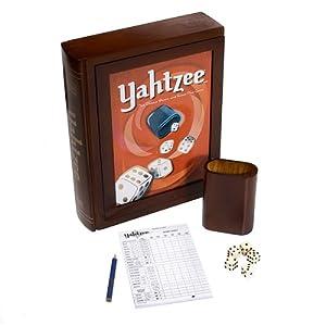 Click to buy Hasbro Library Yahtzee Game from Amazon!