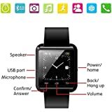 Bluetooth Smart Watch Fit For Samsung Galaxy S4 S5 S6 Edge Note 3 4 5 HTC Nexus Sony LG Huawei Android Smartphones...