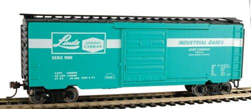 40' Metal Boxcar Linde Union Carbide HO MDP2176