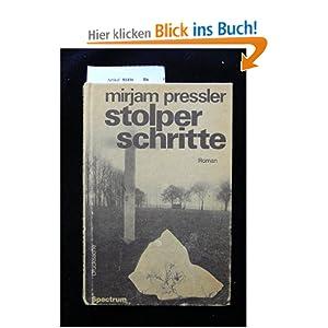 Stolperschritte: Amazon.de: Mirjam Pressler: Bücher