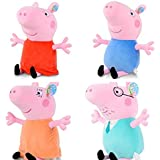 Love Peppa Pig Plush Toy Set Family Of Four 4 X46cm/18""
