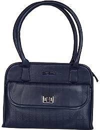 Stitch & Turn Women Handbag (Navy Blue, AGU_Navy Blue)