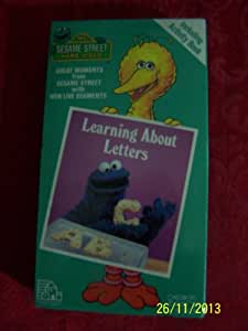 sesame street learning about letters sesame learning about letters jim 24809 | 41ZE0VdlOpL. SY300 QL70