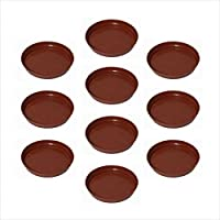 "Planters Plastic Bottom Tray 6""( PACK OF 10 Pcs )"