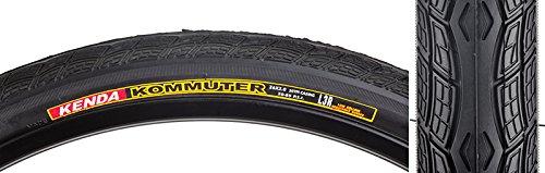 Sunlite Kommuter Hybrid Tires, 26 x 2.0″, Black/Black Skin
