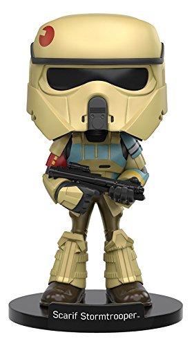 Funko Wobbler: Star Wars Rogue One - Scarif Stormtrooper Action Figure