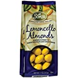 Sconza Lemoncello Chocolate & Lemon Cream Almonds (Pack Of 2) 5 Oz Bags