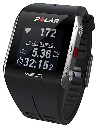 POLAR(ポラール) V800 HR ブラック/グレー(心拍センサー付)[日本正規品] 90047436