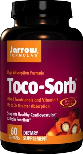 Jarrow Formulas - Toco-Sorb, 150 mg, 60 softgels