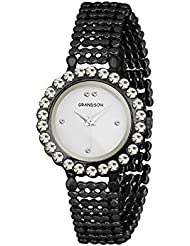 Grandson Black Casual Analog Watch For Girls And Women - B01L8ZQPRC