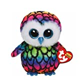 Claire's Accessories Ty Beanie Boos Plush Aria the Rainbow Owl - 6