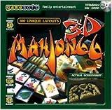 BRAND NEW Gamesoft Mahjongg 3D Selectsoft OS Windows 98 Me 2000 Xp Hints Undo Moves Shuffle Mode Scores