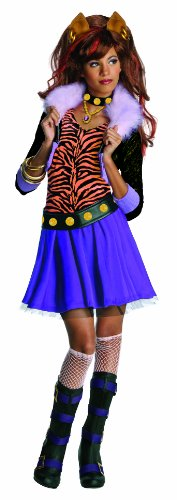 Monster High Clawdeen Wolf Costume - One Color - Small
