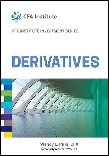 Derivatives (CFA Institute Investment Series)-Book 2017