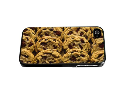 Yummy Chocolate Chip Cookie Hard Snap on Phone Case (iPhone 4/4s)