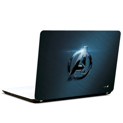 Pics And You Captain America Logo Classy Laptop Skin Decal
