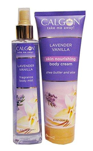 Calgon Skin Nourishing Body Cream / Body Mist / LAVENDER VAN