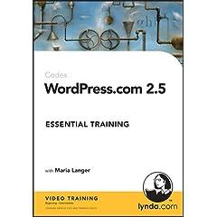 WordPress.com 2.5 Essential Training
