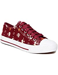 Lovely Chick Red Women Casual Sneakers